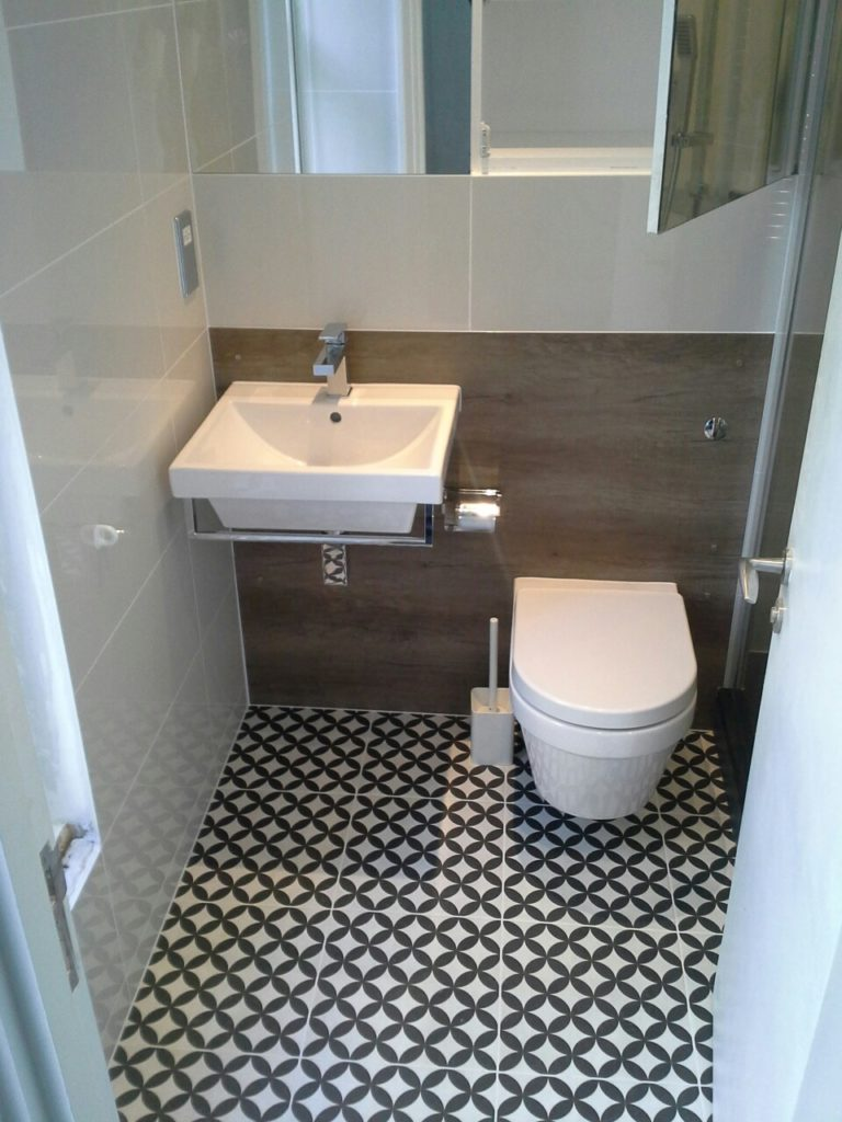 Bathroom Refurbishment Covent Garden London W1 8