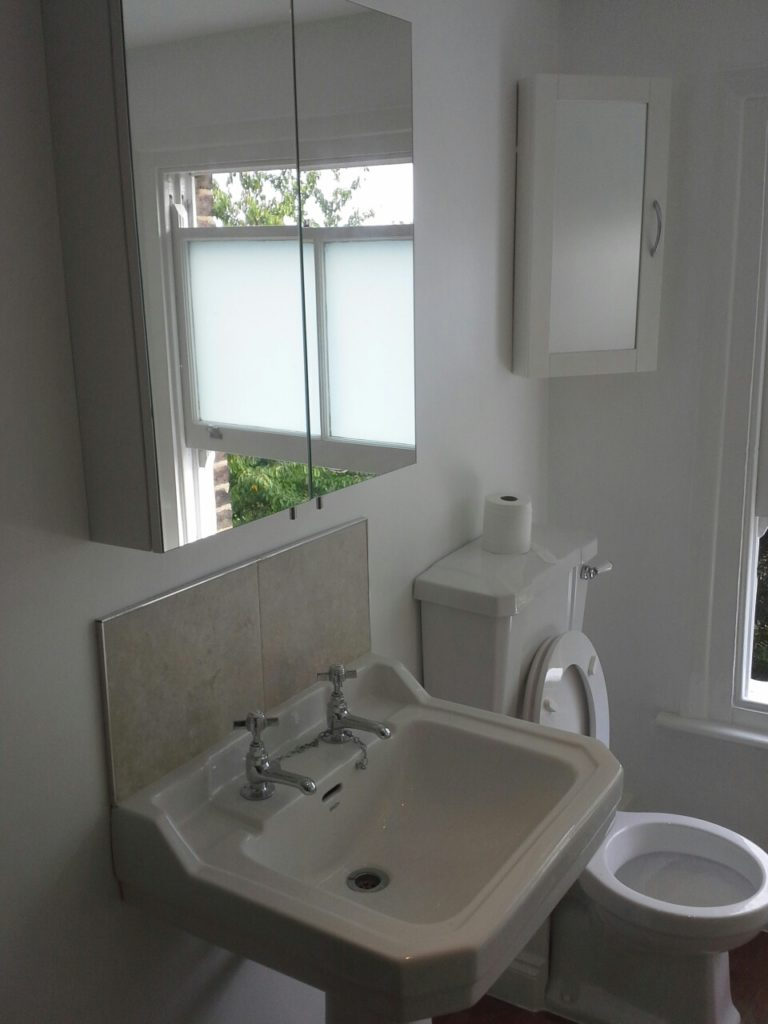 Bathroom Renovation- Refurbishment East Dulwich 1